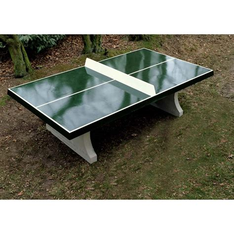 How To Make An Outdoor Table Tennis Table