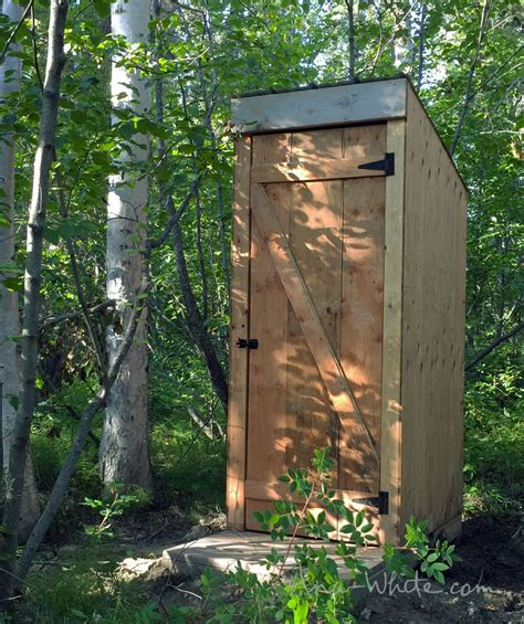 How To Make An Outhouse Shed Designs