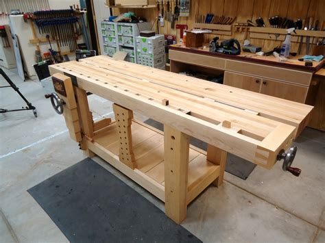 How To Make An Wood Workbench Plans