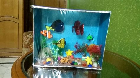 How To Make Aquarium At Home For School Project
