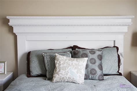 How To Make Bed Headboard Diy Ideas