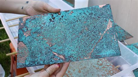 How To Make Blue Patina On Brass