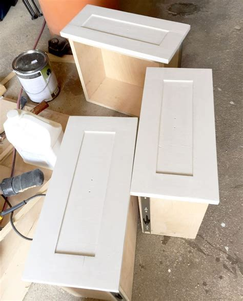 How To Make Built Ins With Drawers