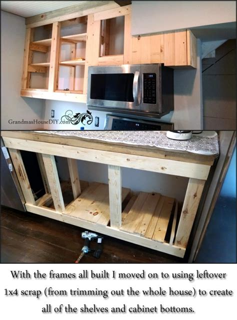 How To Make Built in Kitchen Cupboards