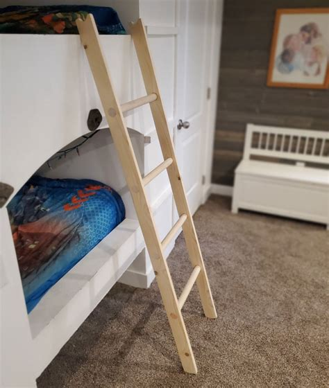 How To Make Bunk Bed Ladder