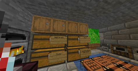 How To Make Cabinets In Minecraft