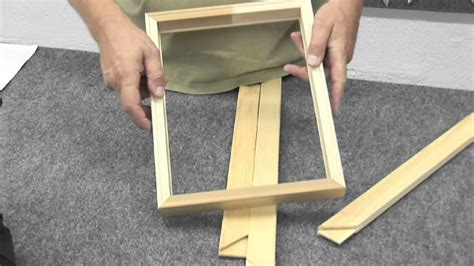 How To Make Canvas Frame Diy With Sticks