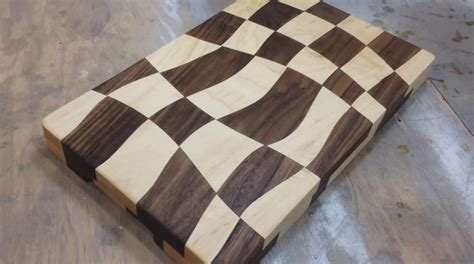 How To Make Checkerboard Cutting Board