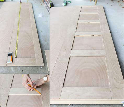 How To Make Closet Doors Out Of Plywood Furniture