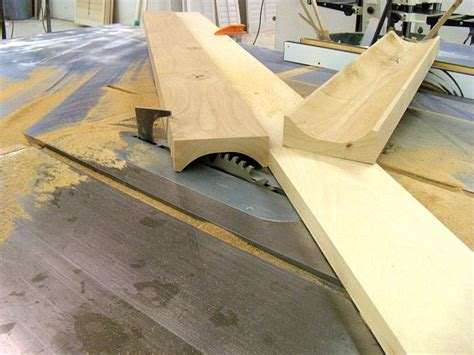 How To Make Cove Molding On Table Saw