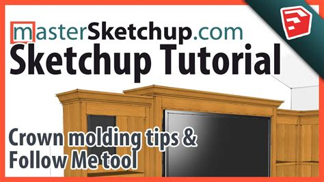 How To Make Crown Molding In Sketchup