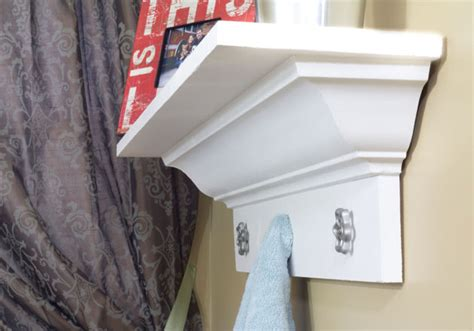How To Make Crown Molding Shelves DIY Pinterest