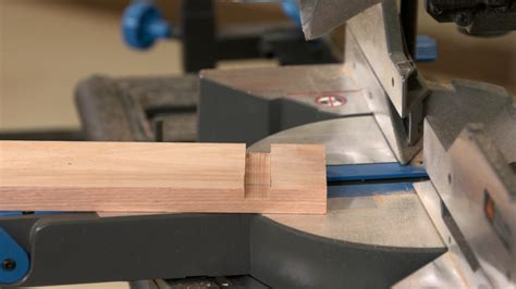 How To Make Dado Cuts With A Miter Saw
