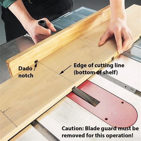 How To Make Dado Cuts Without Dado Blades