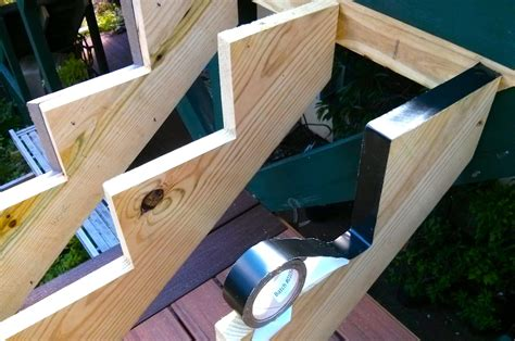 How To Make Decking Stairs Stringer