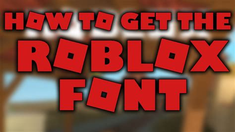 How To Make Different Fonts On Roblox