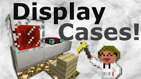 How To Make Display Cases In Vanilla Minecraft Mods