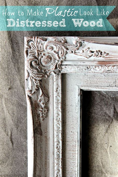 How To Make Distressed Wood Frames