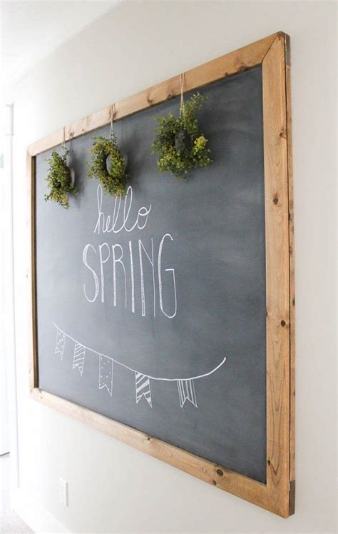 How To Make Diy Chalkboard