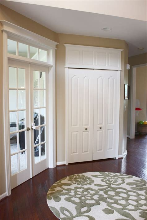 How To Make Door Trim Look Bigger