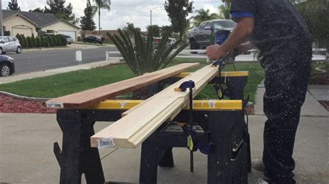 How To Make Door Trim With A Router Youtube