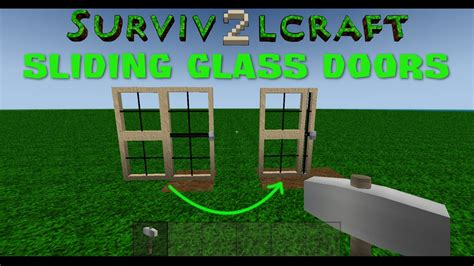 How To Make Double Doors In Survivalcraft 2