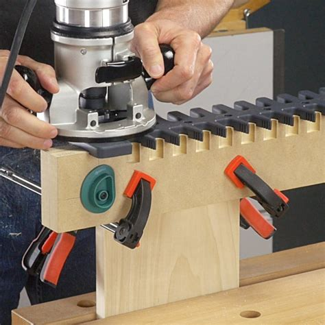 How To Make Dovetail Joints With A Jig Doing A Jig