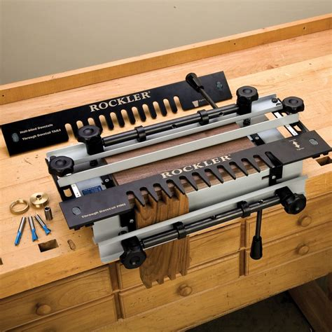 How To Make Dovetail Joints With Rockler Jig