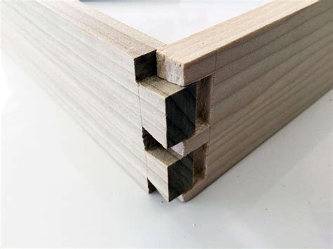 How To Make Dovetail Wood Joints In Classical Japanese