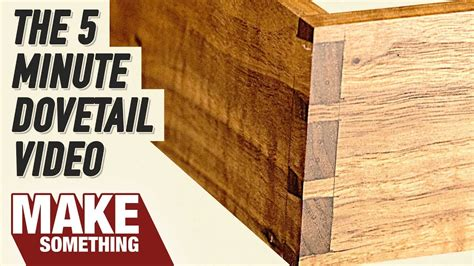 How To Make Dovetails On Youtube