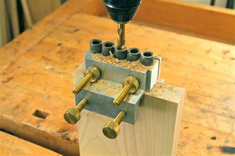 How To Make Dowel Holes