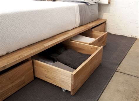 How To Make Drawers Under Bed