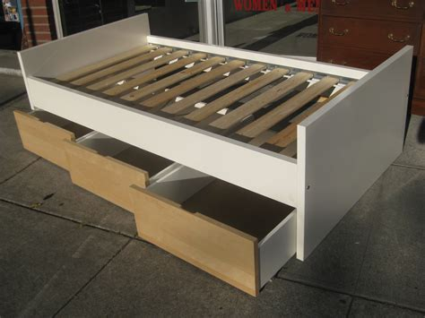 How To Make Drawers Under Bed With Cubicle
