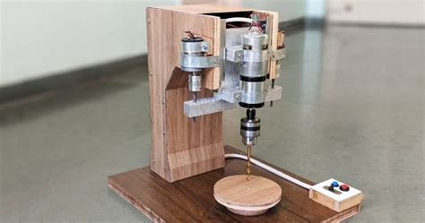 How To Make Drill Press Machine