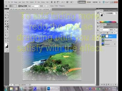 How To Make Edges Transparent In Photoshop