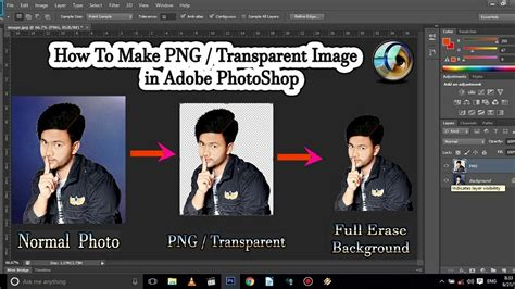 How To Make Edges Transparent On Photoshop