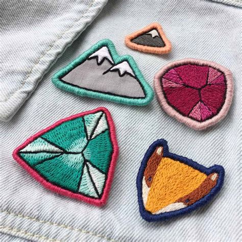 How To Make Embroidered Patch From Scratch