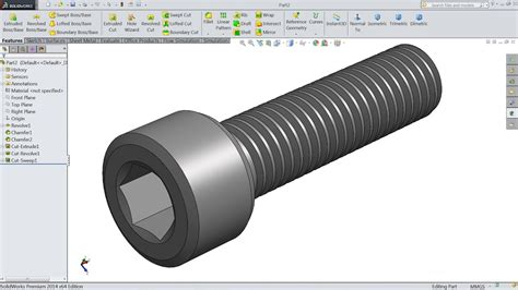 How To Make Fasteners In Solidworks
