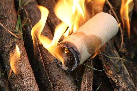 How To Make Fire Starters With Lint