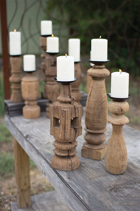 How To Make Furniture Leg Candle Holders