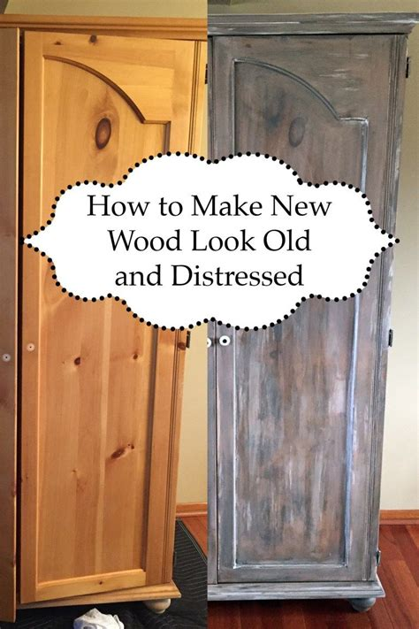 How To Make Furniture Look Distressed With Stain