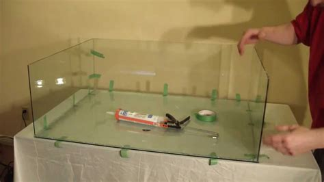 How To Make Glass Aquarium Tank At Home