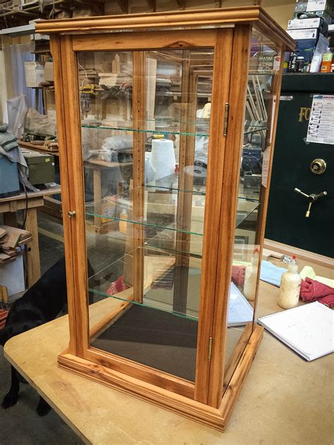 How To Make Glass Display Case