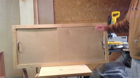 How To Make Glass Sliding Cabinet Doors