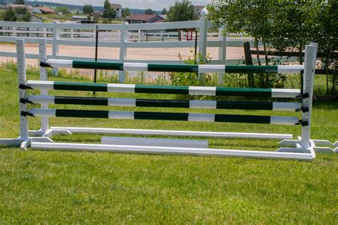 How To Make Horse Jumps From Scratch