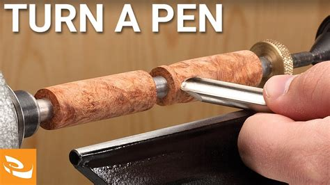 How To Make Ink Pens Out Of Wood