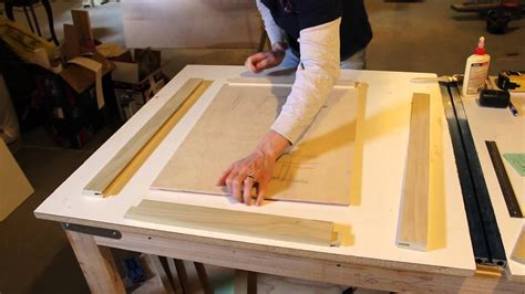 How To Make Kitchen Cabinet Doors Youtube