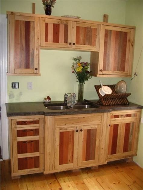 How To Make Kitchen Cupboards Out Of Pallets
