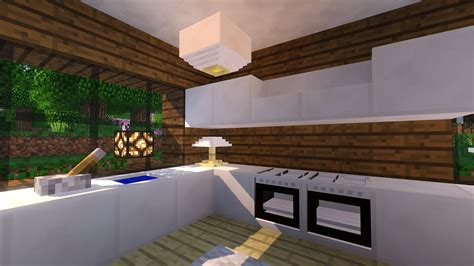 How To Make Kitchen Furniture In Minecraft