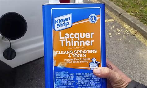 How To Make Lacquer Thinner For Catalytic Converter